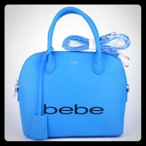 Gorgeous bright blue BEBE handbag